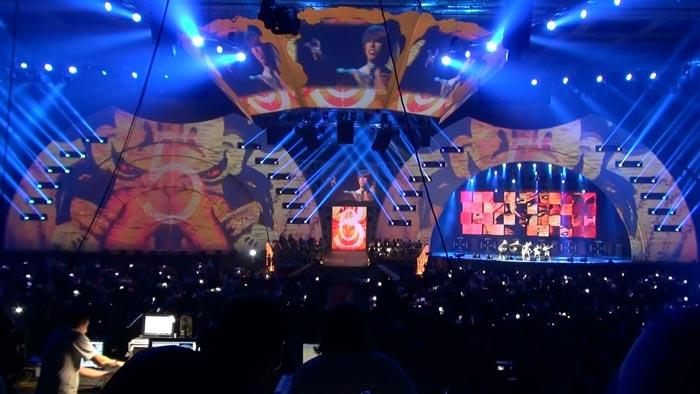 """3D відеомапінг від LC.UA на премії """"Муз-ТВ 2012"""", LC.UA"""