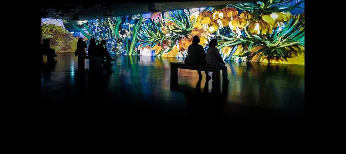 "LC.UA в мультимедийном музее ""FROM MONET TO KLIMT ART IN MOTION"", г.Кёльн Германия"