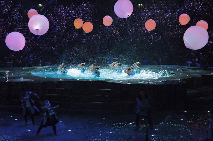 LC.UA на церемонии открытия 16-го чемпионата мира ФИНА по водным видам спорта 2015, LC.UA