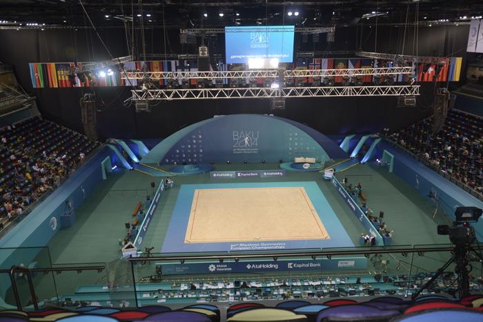 LC.UA на церемонії відкриття 30-го Чемпіонату Європи з художньої гімнастики в Баку, Азербайджан, LC.UA