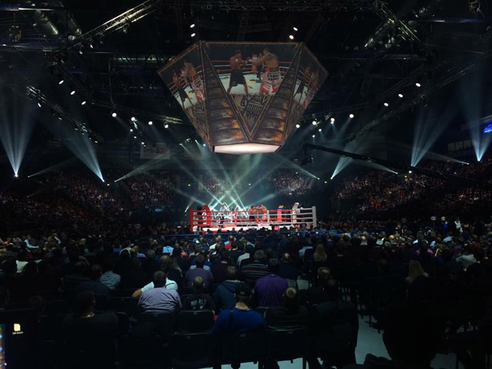 "Large-scale boxing tournament in ""Tatneft Arena"", Kazan, LC.UA"